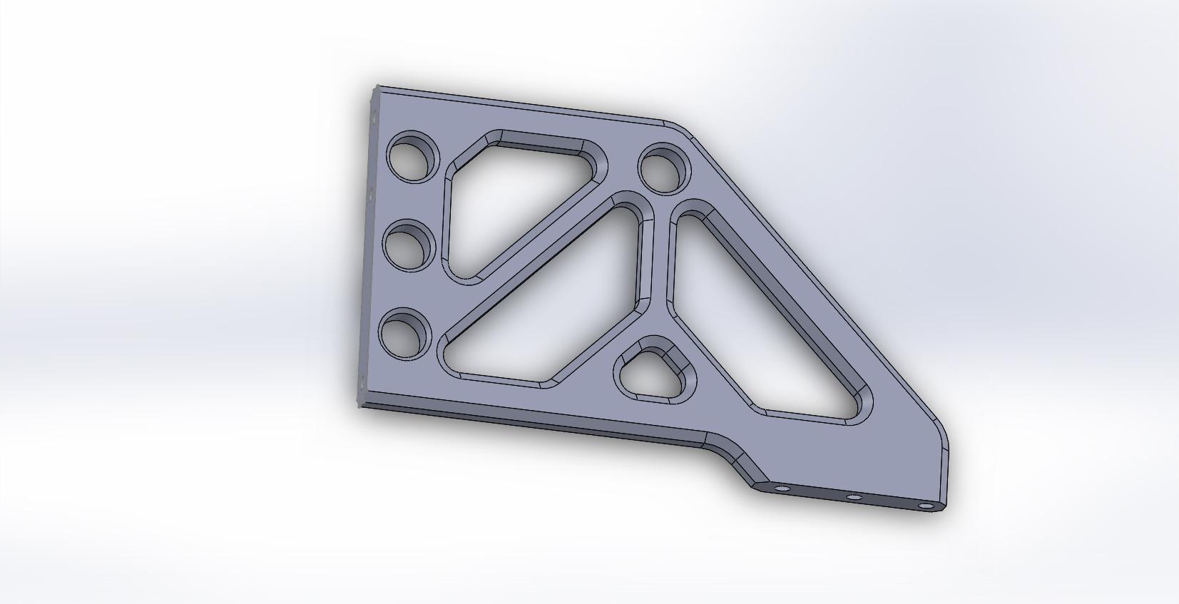 Anglebrakett-extended for camera -car dampener